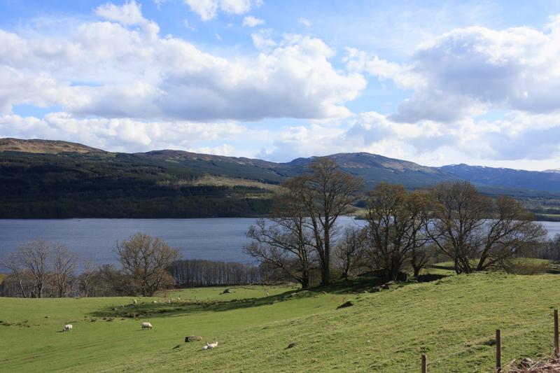 スコットランドの風景